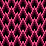 Abstract seamless geometric pattern with triangles.