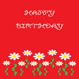 colorful  greeting happy birthday
