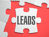 Leads - Puzzle on the Place of Missing Pieces.