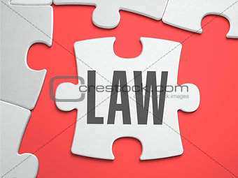 Law - Puzzle on the Place of Missing Pieces.