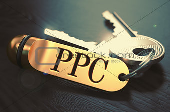 PPC written on Golden Keyring.