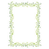 simple green frame