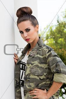 modern urban girl