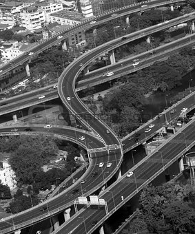 Top view traffic