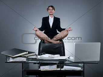 business secretary woman levitation
