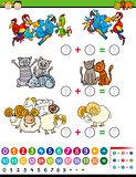 cartoon education math game
