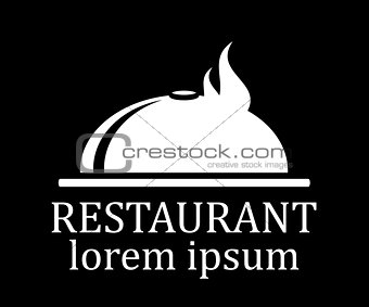 black restaurant menu icon