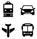 transport set icons
