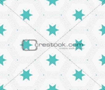 Modern stylish hexagon star texture. Delicate geometric tiles