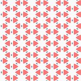 Vector seamless pattern. Modern stylish texture. Repeating geometric tiles. Composition from triangles and star