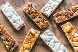Turron slices