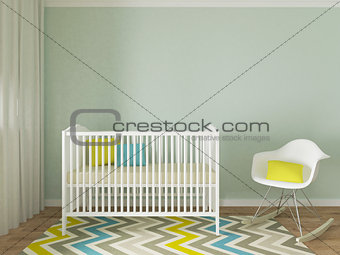 Boy nursery room