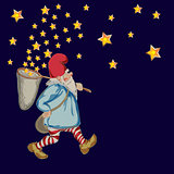 Dwarf with stars