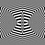Design monochrome movement illusion background