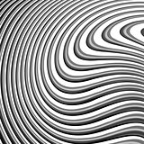 Design monochrome waving lines background