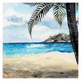 Watercolor Sea background