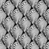 Design seamless waving lines pattern