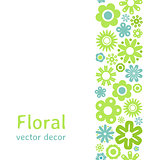 Various flower frame background
