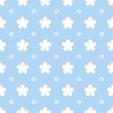 Flower seamless pattern background