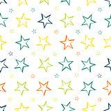 Stars pattern seamless background