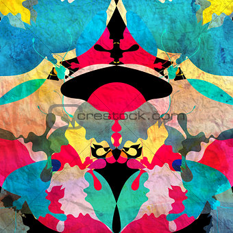 watercolor abstract ornamental background