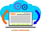 vector - cloud computing