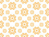 Vector seamless wallpaper with floral pattern