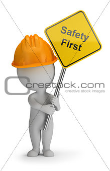 3d small people - safety first