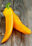 Yellow Ramiro Peppers