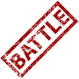 Battle rubber stamp
