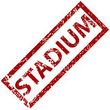 Stadium rubber stamp