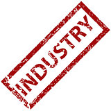 Industry rubber stamp