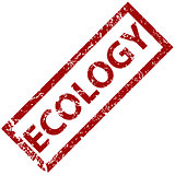 Ecology rubber stamp