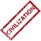 Civilization rubber stamp