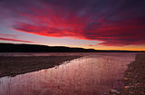 Sunset over Lake Burralow