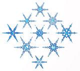 ice snowflakes