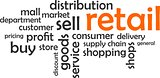 word cloud - retail