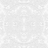 Decorative seamless pattern. Vector illustration.