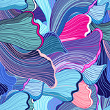 abstract pattern wave