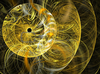Abstract fractal rounds