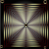 Vector patterned frame