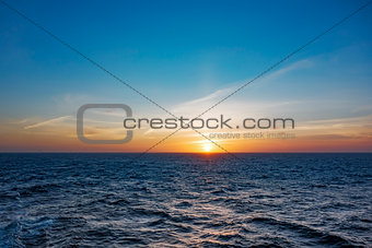 atlantic sunset