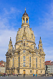 The Frauenkirche Church, Dresden, Saxony, Germany