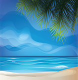 tropic exotic island beach landscape