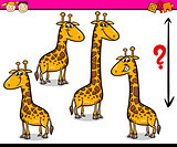 preschool task cartoon illustration