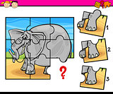 jigsaw preschool cartoon game
