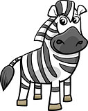 zebra animal cartoon illustration