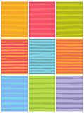 irregular line patterns in multiple colors