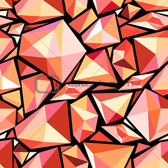 abstract pattern polygons