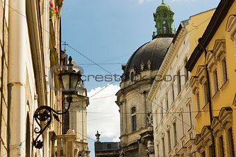 Old street in Lviv
